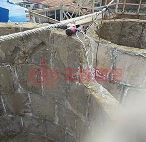 砖烟囱拆除施工工程