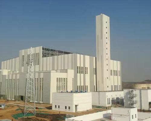 洛阳环洛再生80米烟囱新建工程