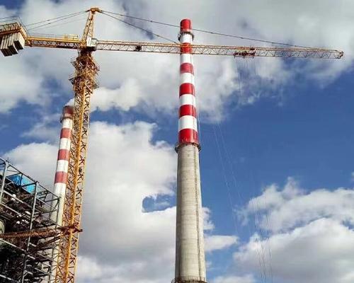 江西自立资源再生150米混凝土烟囱