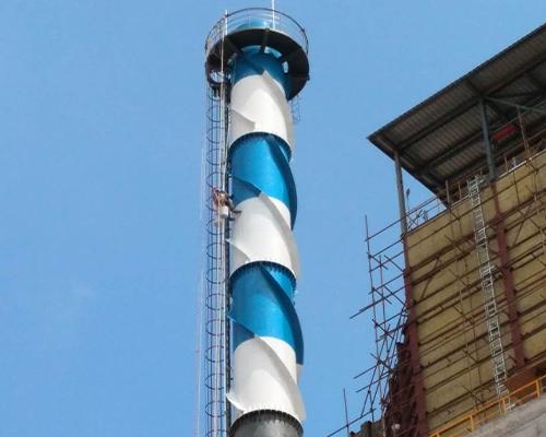 老挝60米钢烟囱