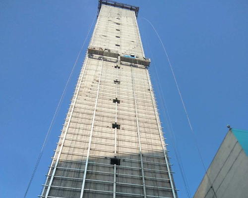 厦门80米混凝土方烟囱工程信息