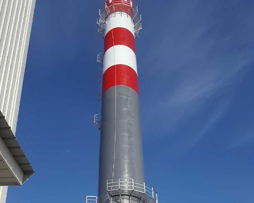 吐鲁番50米混凝土烟囱工程
