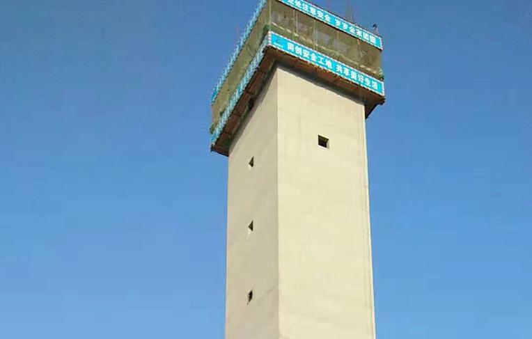 社旗77米方烟囱新建工程