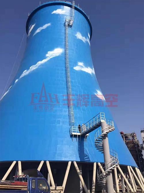 天津绿色动力冷却塔新建工程